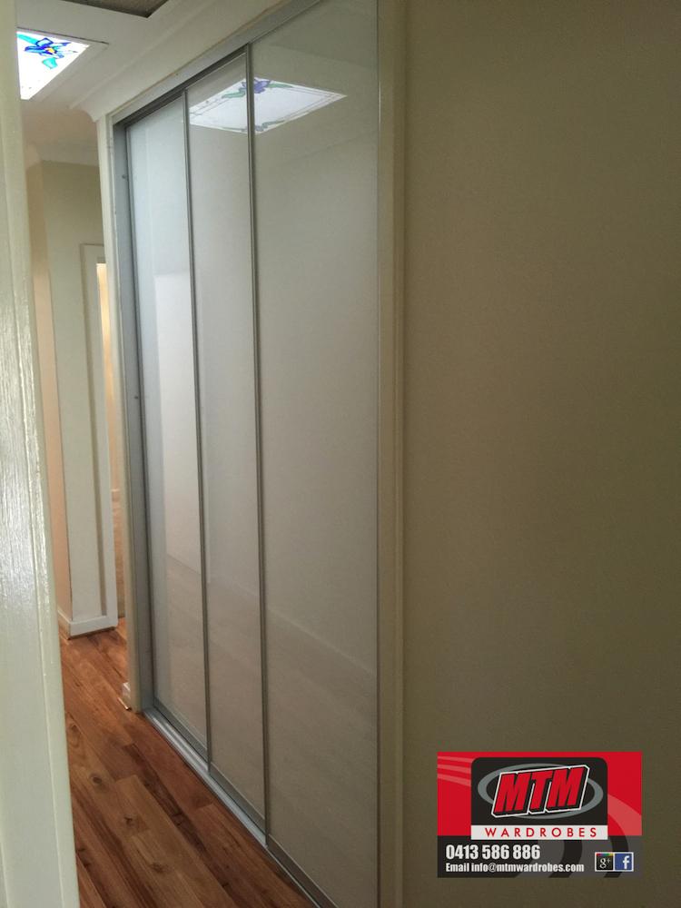 ... Linen Cupboard with new sliding doors installed & Linen Cupboard update hinged to Sliding doors
