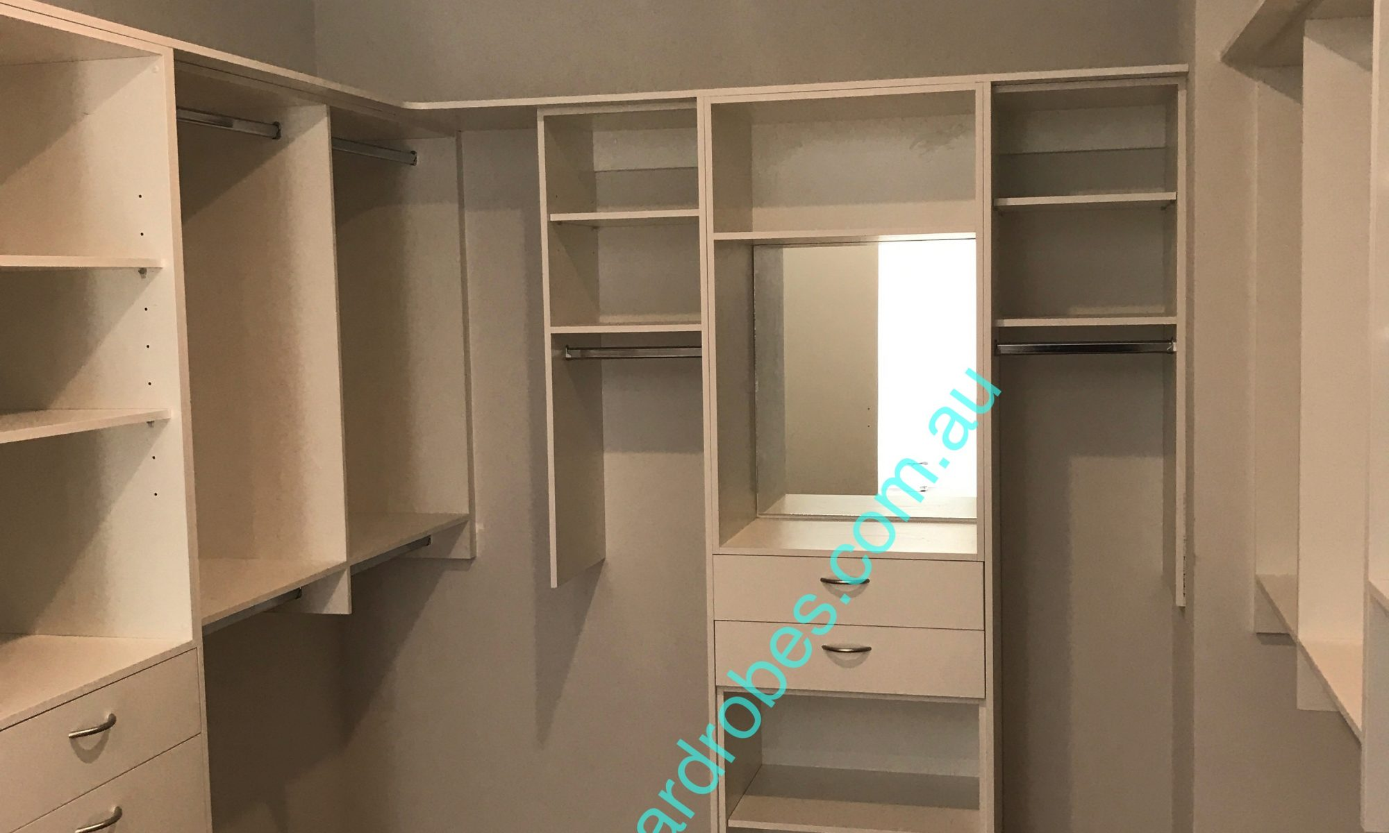 Custom Walk-in Wardrobe