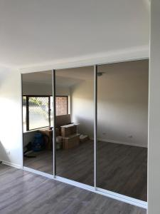 Bronze Mirror sliding doors